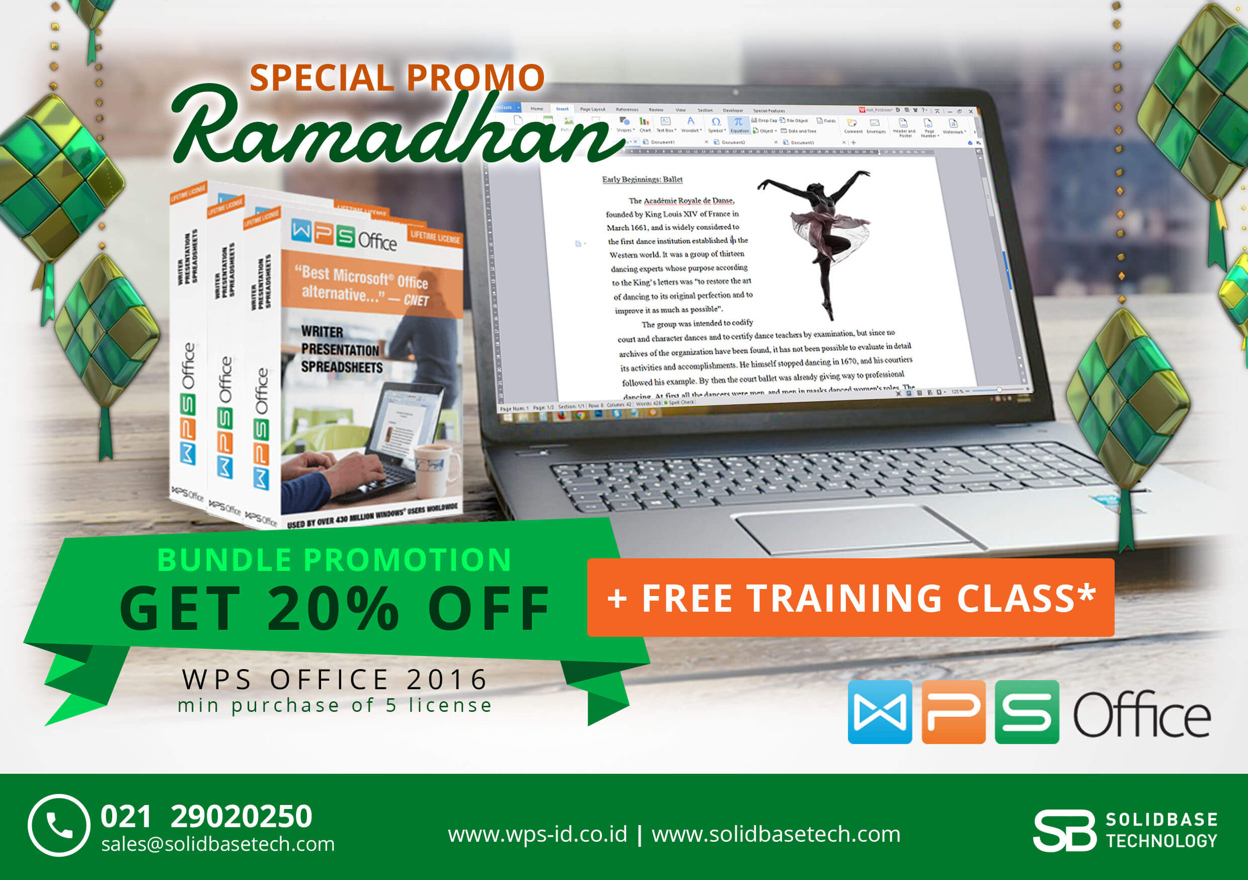 Promo WPS Office